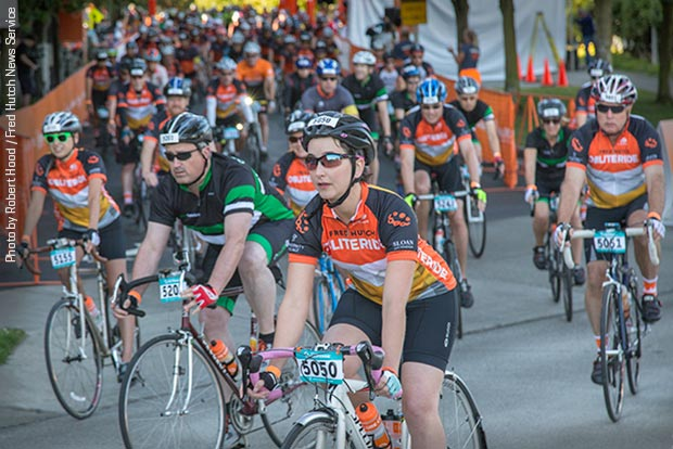 More than 1,500 riders raised nearly $2 million in this weekend's Obliteride fundraiser for Fred Hutch