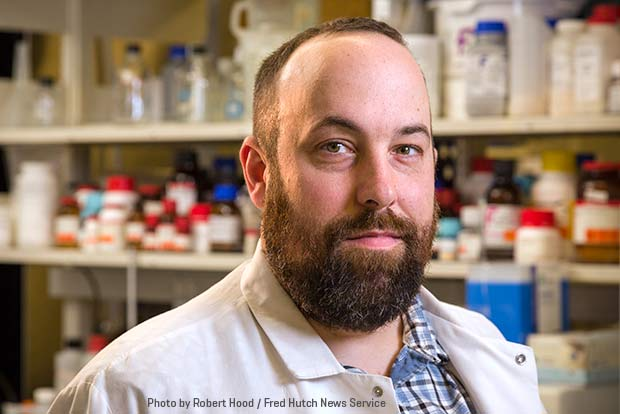 Photo of Fred Hutch researcher Dr. Andrew McGuire