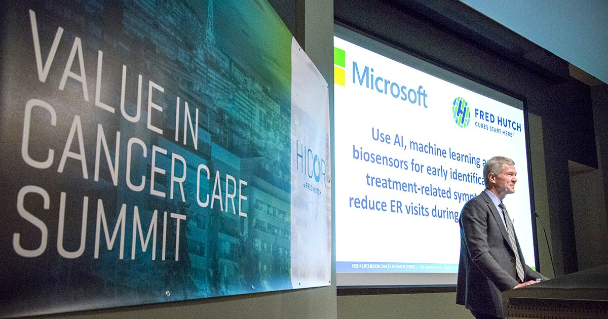 Fred Hutch, Microsoft partner to improve cancer care delivery