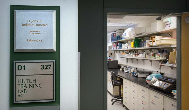 The Training Lab in the Thomas Building is equipped with support from H. Jon and Judith M. Runstad