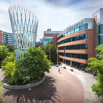 Fred Hutch campus in Seattle