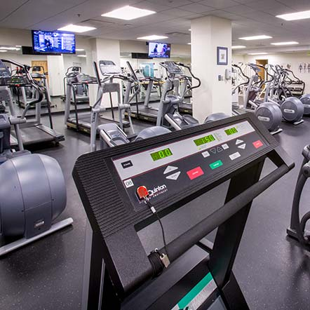Exercise facility at Prevention Center