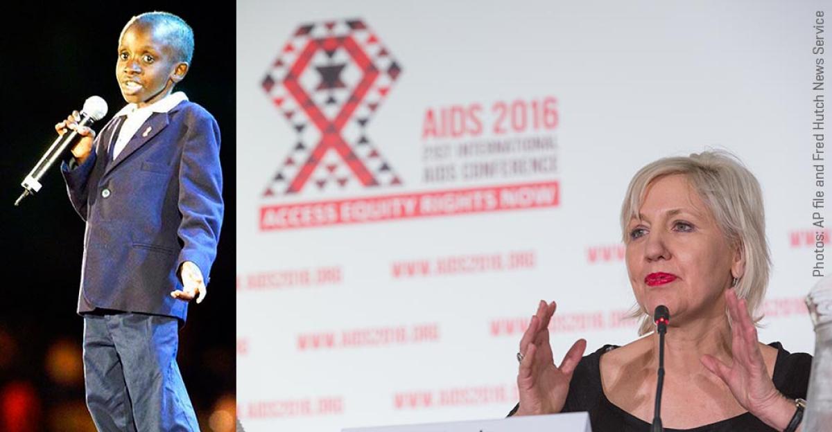 Hutch researcher, South African pediatrician recalls HIV hero Nkosi Johnson at AIDS 2016