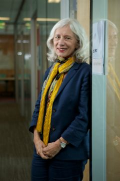 Julie McElrath, M.D., Ph.D., is director of the HVTN Laboratory Center, and senior vice president and director of the Vaccine and Infectious Disease Division at Fred Hutch.