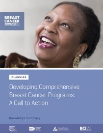 Comprehensive Breast Cancer Programs