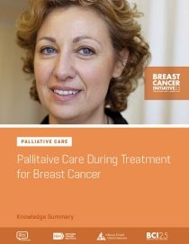 Palliative Care During Treatment for Breast Cancer