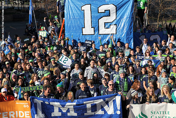 Seattle Seahawks spirit