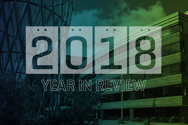 photo illustration of 2018 year in review