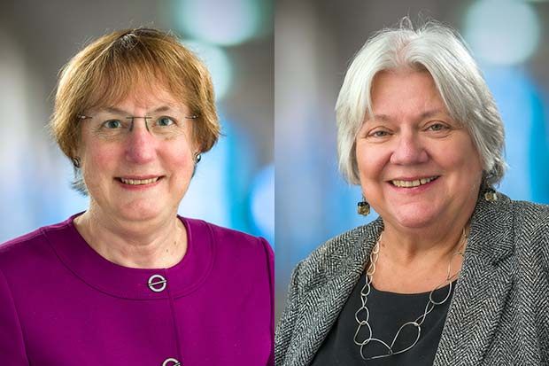 Drs. Nancy E. Davidson and Denise Galloway